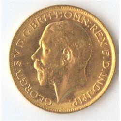 1928 M George V Sovereign