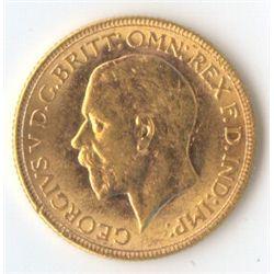 1929 M George V Sovereign