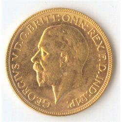 1929 P George V Sovereign