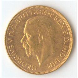 1930 P George V Sovereign