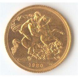 GB Sovereign 1980