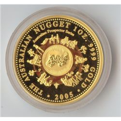 2005 Proof Nugget