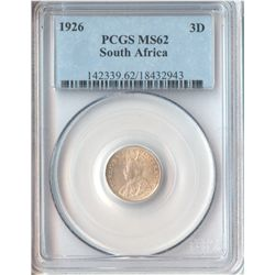 South Africa 1926 Threepence