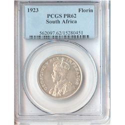 South Africa 1923 Florin