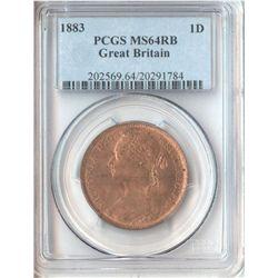 GB 1883 Penny