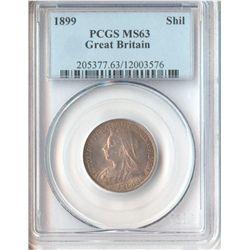 GB 1899 Shilling