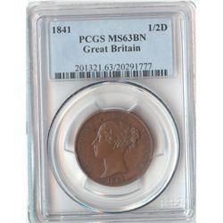 GB 1841 ½ Penny