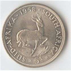 South Africa 1958 Crown