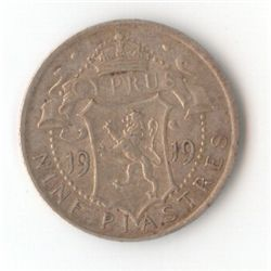 Cyprus 9 Piasters 1919