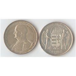 Hungary 5 Pengo 1939