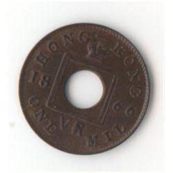 Hong Kong 1 Mil 1866