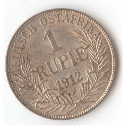 German East Africa 1 Rupia 1912J