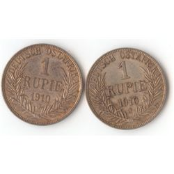 German East Africa 1 Rupia 1910J
