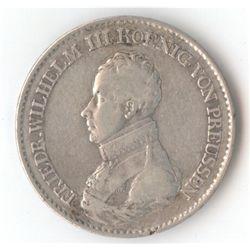 Prussia Thaler 1818 D