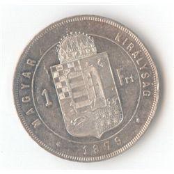 Hungary 1 Florin 1879