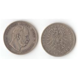 Prussia 5 Marks