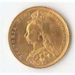 GB 1888 Sovereign