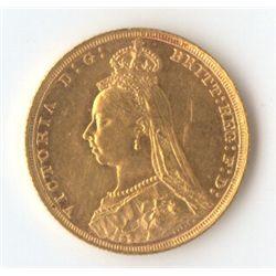 GB 1893 Sovereign