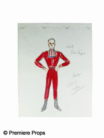 Lost In Space Costume Sketches