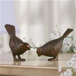 Set Bird Sculptures