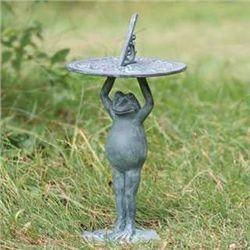 Standing Frog Sundial