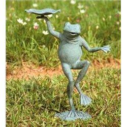 Dancing Frog Bird Feeder