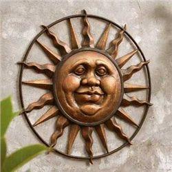 Jolly Sun Face Wall Plaque
