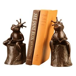 Frog Prince Bookends