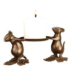 Mouse Bearers Candleholder