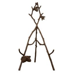 Pinecone & Branch Easel