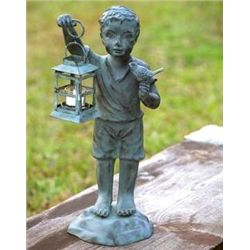 Boy & Bird Lantern