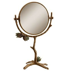 Pinecone Table Mirror