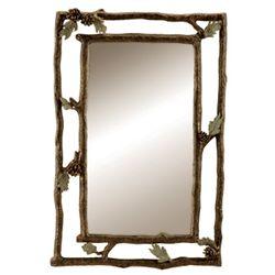 Pinecone Wall Mirror