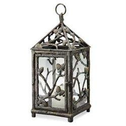Pinecone Lantern Candle Holder
