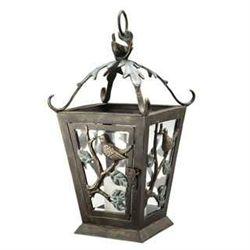 Bird Lantern Candle Holder