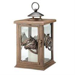 Horse Head Lantern Candle Holder
