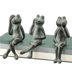 Frog Shelf Sitters