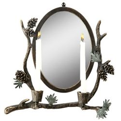 Pinecone Wall Sconce / Mirror