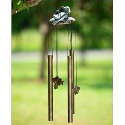 Lazy Frog & Fish Wind Chime