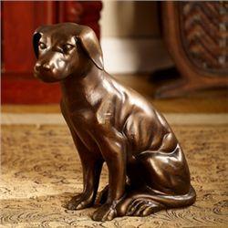 Retriever Dog Sculpture