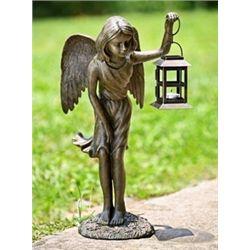 Angel Girl Lantern Candle Holder