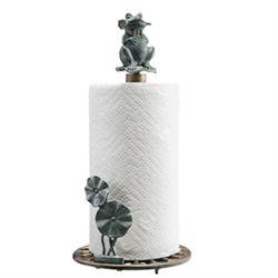 Frog Paper Towel Holder