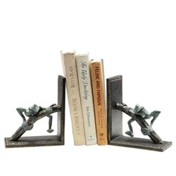 Frog On Branch Bookends