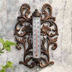 Scroll Wall Mount Thermometer
