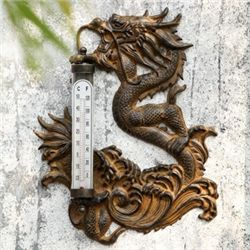 Dragon Wall Mount Thermometer
