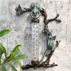 Frog Wall Mount Thermometer