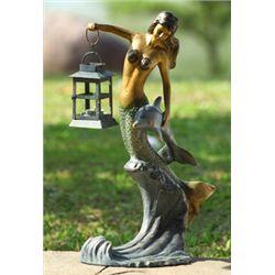 Mermaid Lantern / Candle Holder