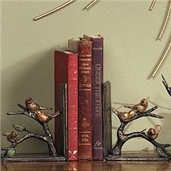 Sparrow Bookends