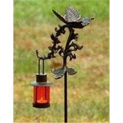 Butterfly Lantern Stake