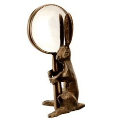 Magnifying Glass With Bunny Holder
